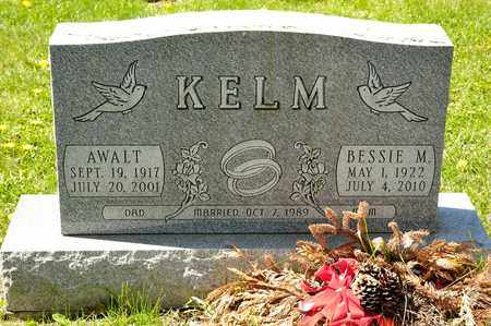 KELM, BESSIE M - Richland County, Ohio | BESSIE M KELM - Ohio Gravestone Photos