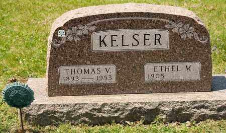 KELSER, THOMAS V - Richland County, Ohio | THOMAS V KELSER - Ohio Gravestone Photos