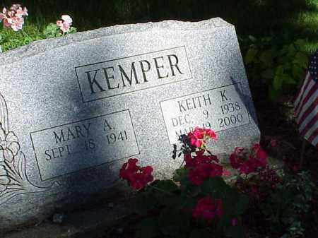 KEMPER, KEITH K. - Richland County, Ohio | KEITH K. KEMPER - Ohio Gravestone Photos