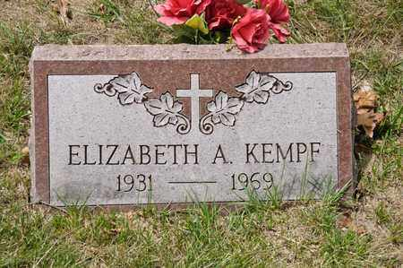 KEMPF, ELIZABETH A - Richland County, Ohio | ELIZABETH A KEMPF - Ohio Gravestone Photos