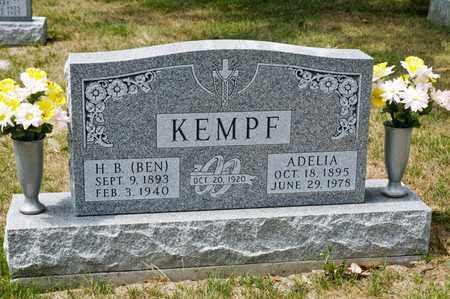KEMPF, H B - Richland County, Ohio | H B KEMPF - Ohio Gravestone Photos