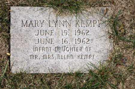 KEMPF, MARY LYNN - Richland County, Ohio | MARY LYNN KEMPF - Ohio Gravestone Photos