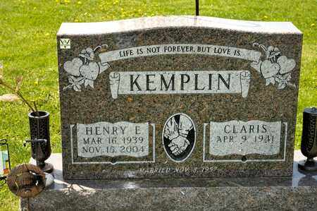 KEMPLIN, HENRY E - Richland County, Ohio | HENRY E KEMPLIN - Ohio Gravestone Photos