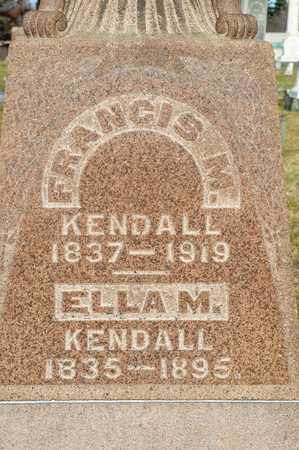 KENDALL, ELLA M - Richland County, Ohio | ELLA M KENDALL - Ohio Gravestone Photos