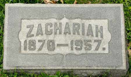 KEOUGH, ZACHARIAH - Richland County, Ohio | ZACHARIAH KEOUGH - Ohio Gravestone Photos
