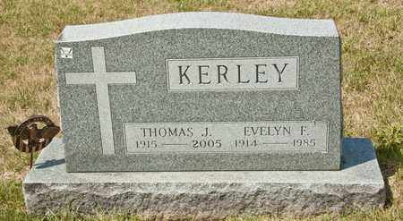 KERLEY, EVELYN F - Richland County, Ohio | EVELYN F KERLEY - Ohio Gravestone Photos