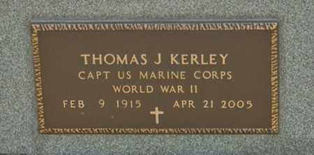 KERLEY, THOMAS J - Richland County, Ohio | THOMAS J KERLEY - Ohio Gravestone Photos
