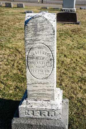 KERR, JESSE - Richland County, Ohio | JESSE KERR - Ohio Gravestone Photos