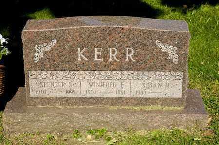 KERR, SUSAN M - Richland County, Ohio | SUSAN M KERR - Ohio Gravestone Photos