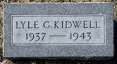 KIDWELL, LYLE G - Richland County, Ohio | LYLE G KIDWELL - Ohio Gravestone Photos