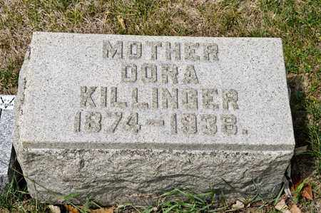 KILLINGER, DORA - Richland County, Ohio | DORA KILLINGER - Ohio Gravestone Photos