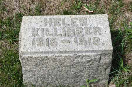 KILLINGER, HELEN - Richland County, Ohio | HELEN KILLINGER - Ohio Gravestone Photos