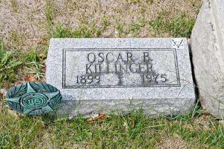 KILLINGER, OSCAR B - Richland County, Ohio | OSCAR B KILLINGER - Ohio Gravestone Photos