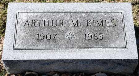 KIMES, ARTHUR M - Richland County, Ohio | ARTHUR M KIMES - Ohio Gravestone Photos