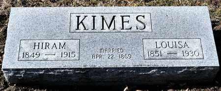 KIMES, HIRAM - Richland County, Ohio | HIRAM KIMES - Ohio Gravestone Photos