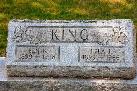 KING, BEN B - Richland County, Ohio | BEN B KING - Ohio Gravestone Photos