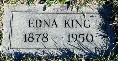 KING, EDNA - Richland County, Ohio | EDNA KING - Ohio Gravestone Photos