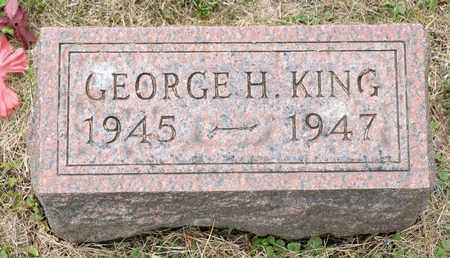 KING, GEORGE H - Richland County, Ohio | GEORGE H KING - Ohio Gravestone Photos