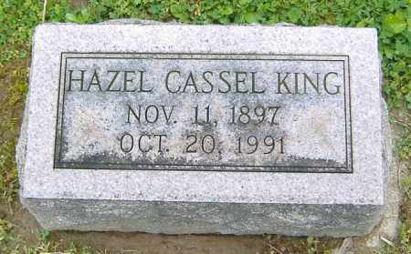 CASSEL KING, HAZEL - Richland County, Ohio | HAZEL CASSEL KING - Ohio Gravestone Photos