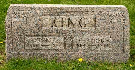 KING, JENNIE - Richland County, Ohio | JENNIE KING - Ohio Gravestone Photos