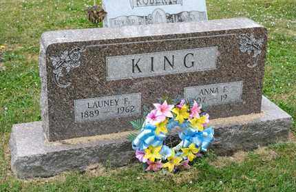 KING, LAUNEY F - Richland County, Ohio | LAUNEY F KING - Ohio Gravestone Photos