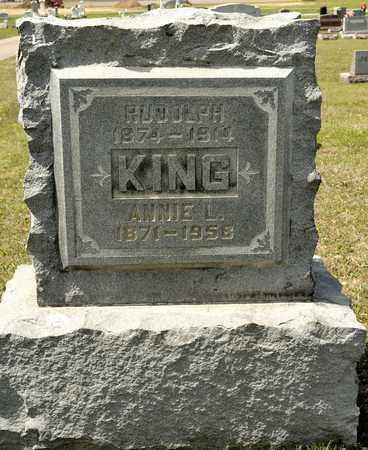 KING, RUDOLPH - Richland County, Ohio | RUDOLPH KING - Ohio Gravestone Photos