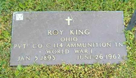 KING, ROY BENNETT - Richland County, Ohio | ROY BENNETT KING - Ohio Gravestone Photos