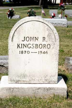KINGSBORO, JOHN R - Richland County, Ohio | JOHN R KINGSBORO - Ohio Gravestone Photos