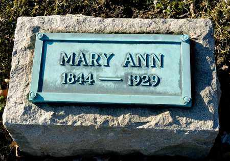 KINGSBORO, MARY ANN - Richland County, Ohio | MARY ANN KINGSBORO - Ohio Gravestone Photos