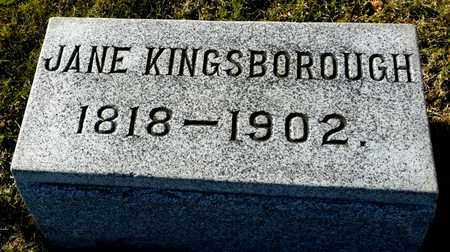 KINGSBOROUGH, JANE - Richland County, Ohio | JANE KINGSBOROUGH - Ohio Gravestone Photos