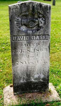 KINSEL, DAVID - Richland County, Ohio | DAVID KINSEL - Ohio Gravestone Photos