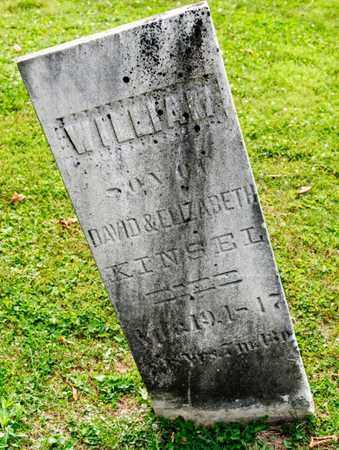KINSEL, WILLIAM - Richland County, Ohio | WILLIAM KINSEL - Ohio Gravestone Photos