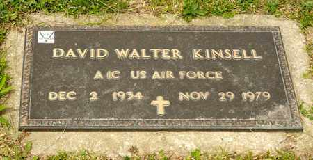 KINSELL, DAVID WALTER - Richland County, Ohio | DAVID WALTER KINSELL - Ohio Gravestone Photos