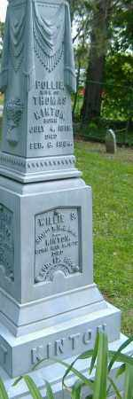 KINTON, POLLIE - Richland County, Ohio | POLLIE KINTON - Ohio Gravestone Photos