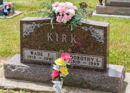 KIRK, WADE F - Richland County, Ohio | WADE F KIRK - Ohio Gravestone Photos