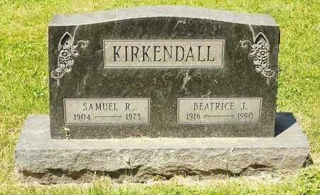 KIRKENDALL, BEATRICE J - Richland County, Ohio | BEATRICE J KIRKENDALL - Ohio Gravestone Photos
