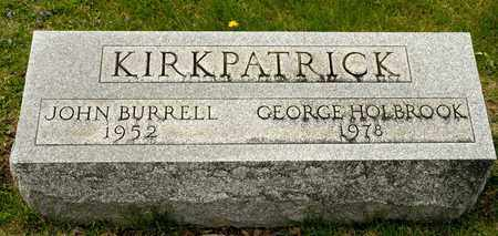 KIRKPATRICK, JOHN BURRELL - Richland County, Ohio | JOHN BURRELL KIRKPATRICK - Ohio Gravestone Photos