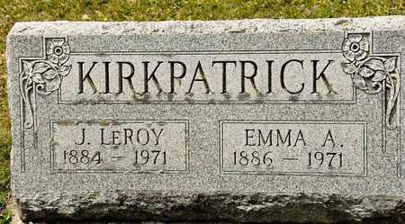 KIRKPATRICK, EMMA A - Richland County, Ohio | EMMA A KIRKPATRICK - Ohio Gravestone Photos