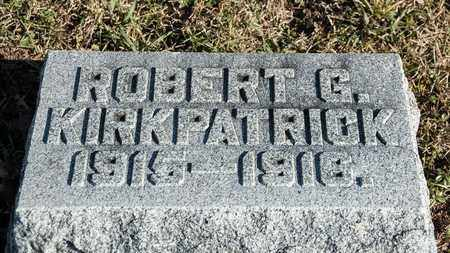 KIRKPATRICK, ROBERT G - Richland County, Ohio | ROBERT G KIRKPATRICK - Ohio Gravestone Photos