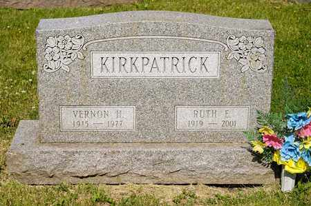 KIRKPATRICK, VERNON H - Richland County, Ohio | VERNON H KIRKPATRICK - Ohio Gravestone Photos