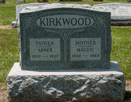 KIRKWOOD, ABNER - Richland County, Ohio | ABNER KIRKWOOD - Ohio Gravestone Photos