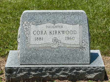 KIRKWOOD, CORA - Richland County, Ohio | CORA KIRKWOOD - Ohio Gravestone Photos