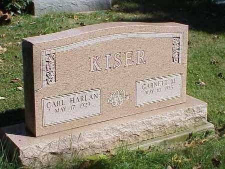 KISER, GARNETT M. - Richland County, Ohio | GARNETT M. KISER - Ohio Gravestone Photos