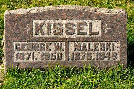 KISSEL, GEORGE W - Richland County, Ohio | GEORGE W KISSEL - Ohio Gravestone Photos