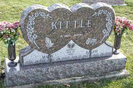 KITTLE, MARY - Richland County, Ohio | MARY KITTLE - Ohio Gravestone Photos
