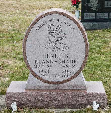 KLANN-SHADE, RENEE B - Richland County, Ohio | RENEE B KLANN-SHADE - Ohio Gravestone Photos