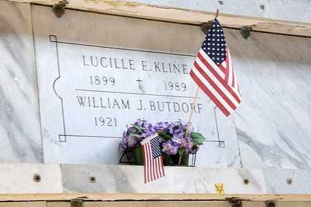 KLINE, LUCILLE E - Richland County, Ohio | LUCILLE E KLINE - Ohio Gravestone Photos