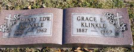 KLINKLE, HENRY EDWARD - Richland County, Ohio | HENRY EDWARD KLINKLE - Ohio Gravestone Photos