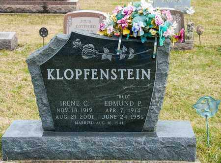 KLOPFENSTEIN, IRENE C - Richland County, Ohio | IRENE C KLOPFENSTEIN - Ohio Gravestone Photos