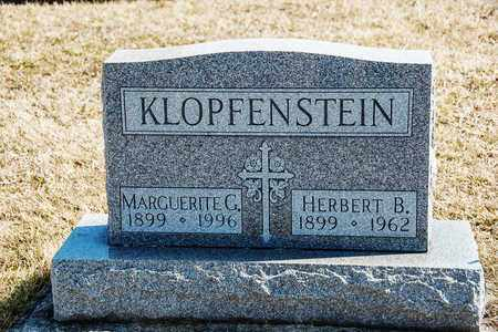KLOPFENSTEIN, HERBERT B - Richland County, Ohio | HERBERT B KLOPFENSTEIN - Ohio Gravestone Photos